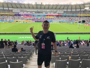 ラグビーワールドカップ ニュージーランド・ナミビア戦に行って来ました。